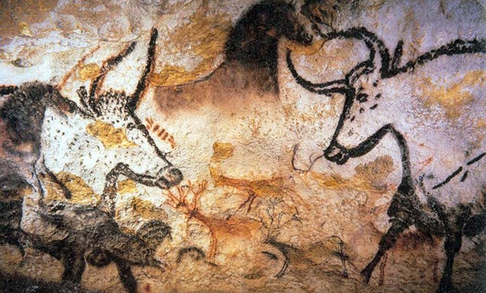 Lascaux painting of Aurochs