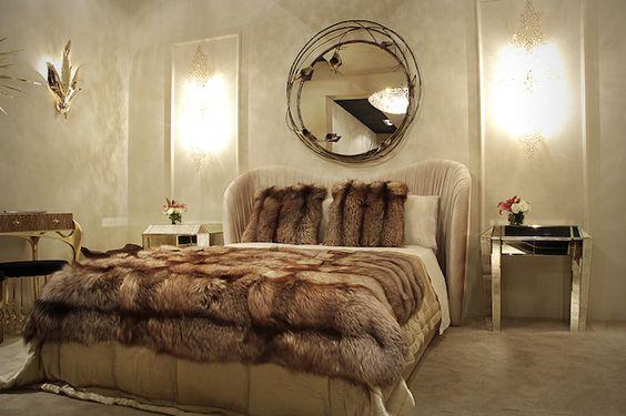 High class all-fur bedroom