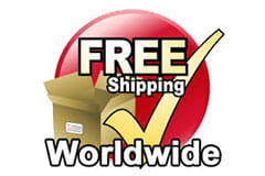 Free worldwide shipping
