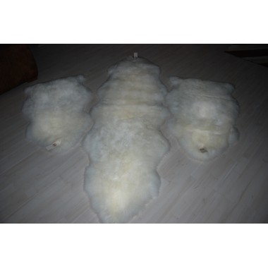 Sheepskin Set for bedroom 1 double 2 single