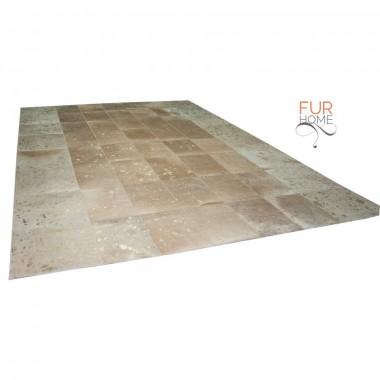 Gold beige patchwork rug panels 20*30 golden