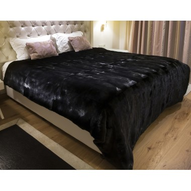 Blackglamma Real   Mink  Fur Blanket