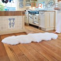 Sheepskin double Rug Colour Ivory - white