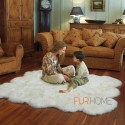 Sheepskin Rug  6 P  Colour Ivory - white