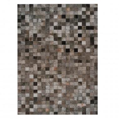 δερμάτινο χαλι ciment multicolour in panels 10x10 cm