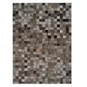 Leder teppich Ciment Multicolor in 10X10 cm Lederstuecken