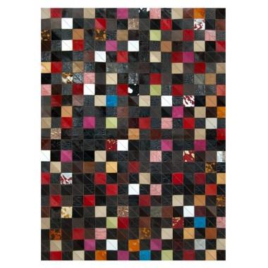 Δερματινο χαλι k-1577 mosaik multicolor corner