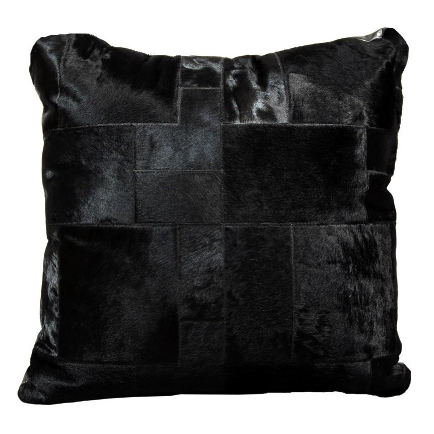 Μαξιλαρα δαπεδου black puzzle 80x80 cm