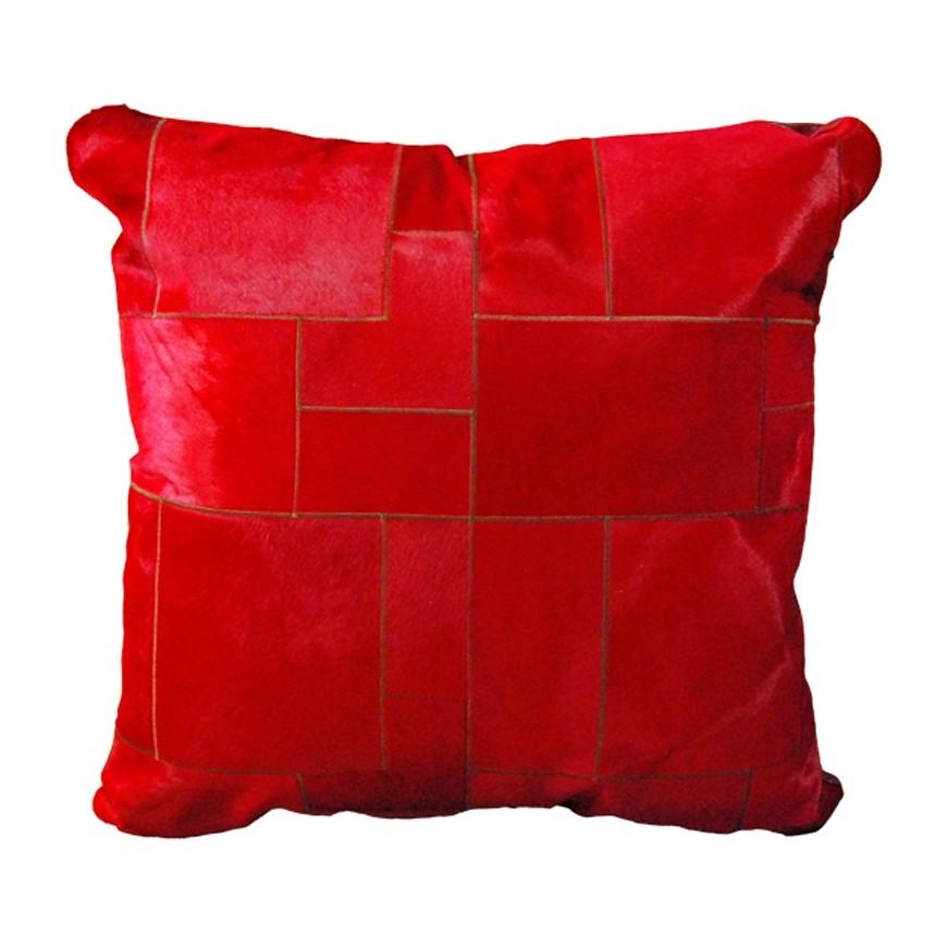 Μαξιλαρα δαπεδου rosso puzzle 80x80 cm