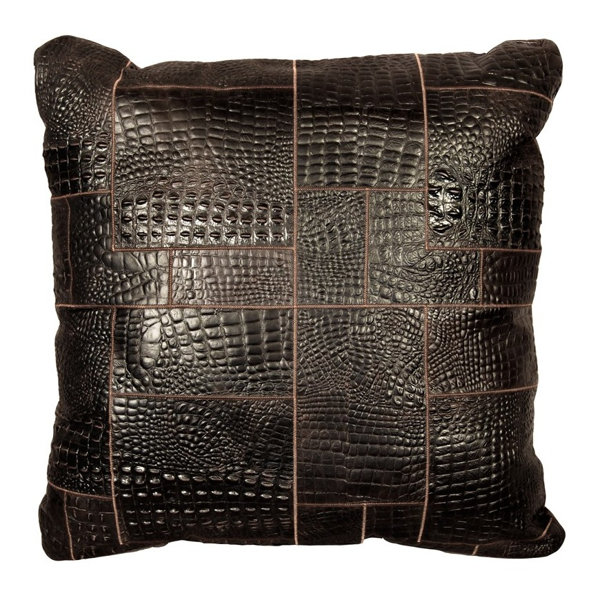 big floor cushion cover* croco t moro puzzle 80x80 cm
