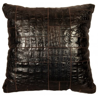 leather big floor cushion jurasico testa di moro puzzle