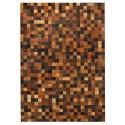 Δερματινο χαλι k-1584 mosaik multicolor brown