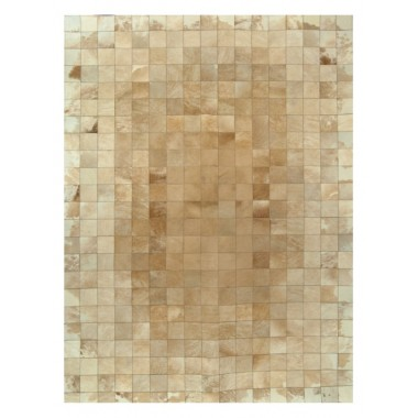 leather carpet rug k-00211 beige white 10x10