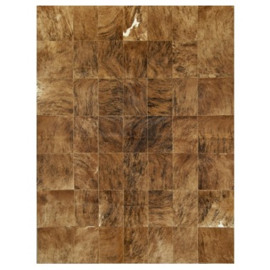 Δερματινο χαλι k-67821  medium brown