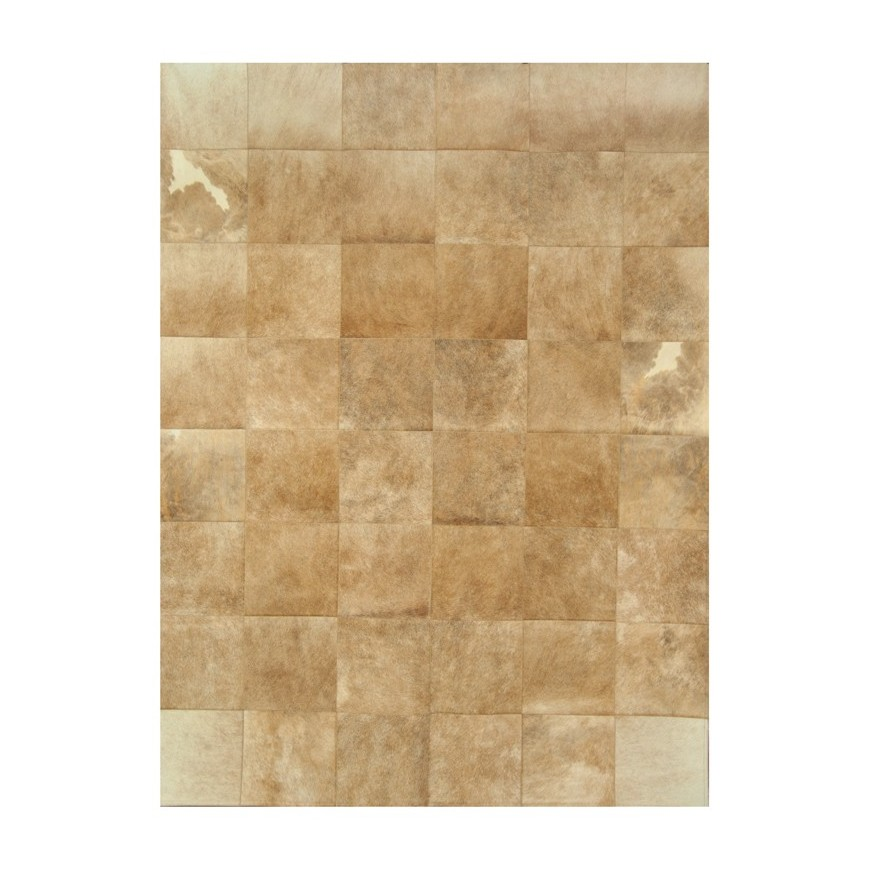leather carpet rug k 68051 exotic light beige 30x30