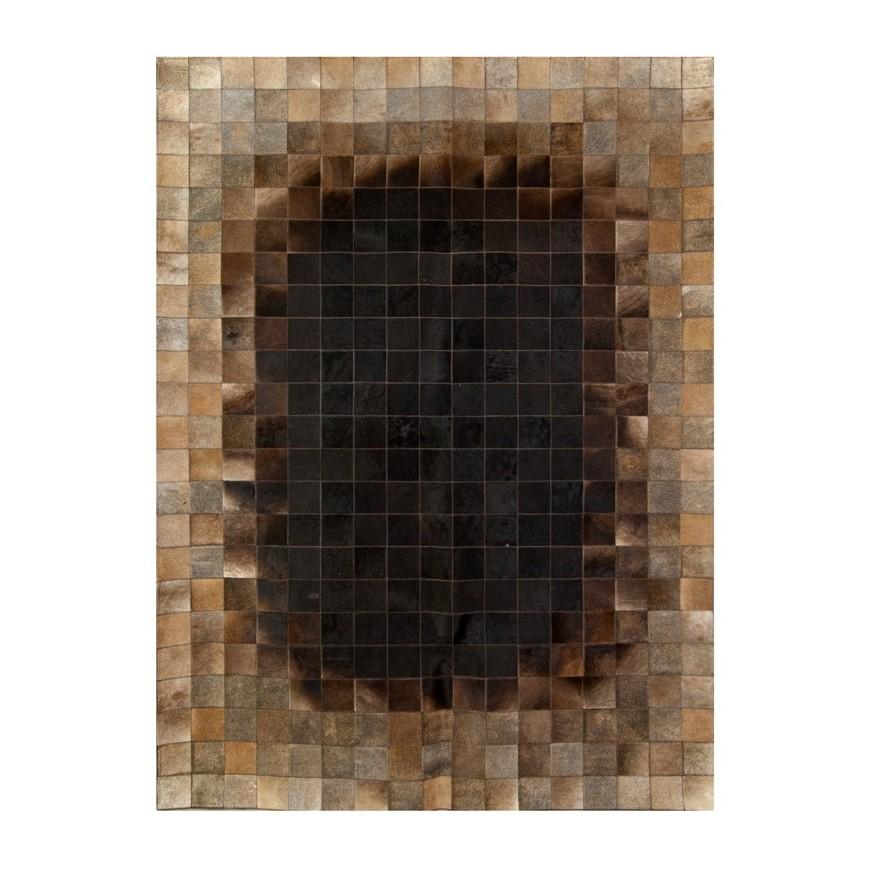Δερματινο χαλι 10x10  k 1653 10x10  redish sk