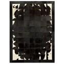 δερματινο χαλι k-1698 black-brown-white