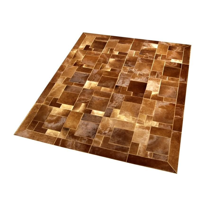Δερματινο χαλι baio horsy puzzle frame
