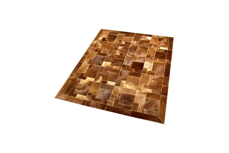 Cowhide Rug Bay Horse Brown Baio Puzzle