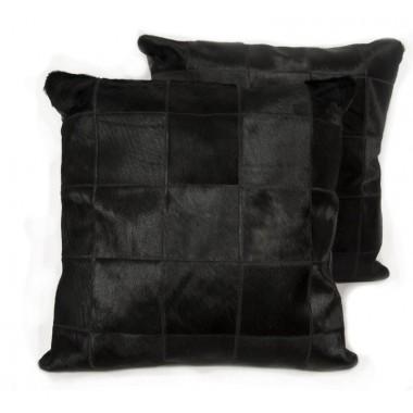 δερματινο μαξιλαρι mosaik black