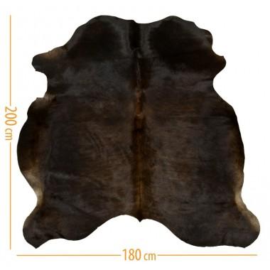 χαλι δερμα d-05 dark brown