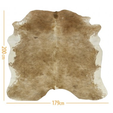 cowhide d-06 exotic light beige 3.90 m2