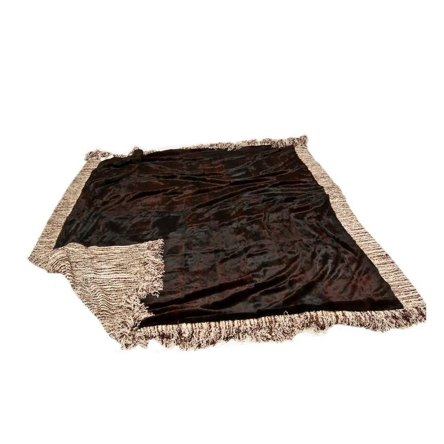 Γουνινη κουβερτα - ριχταρι lapin bordo bronze