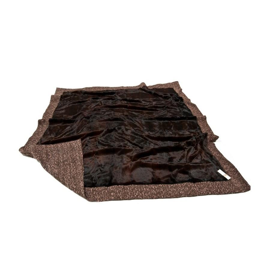 Γουνινη κουβερτα - ριχταρι lapin bordo bronze 2