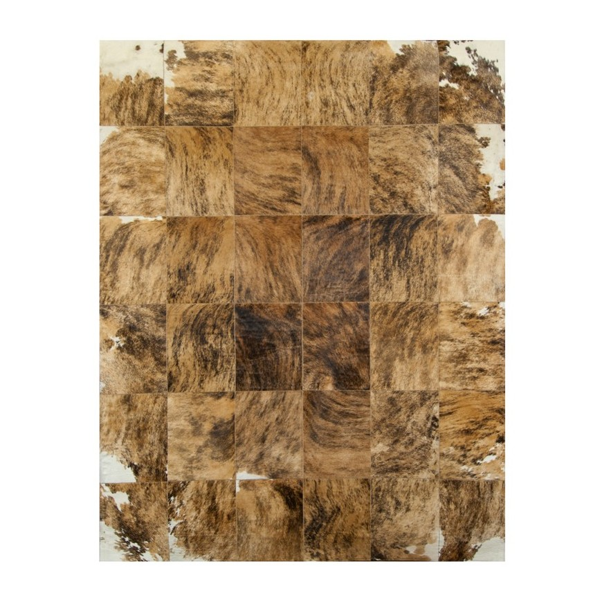 Edgy Swirled Cowhide rug k-145 exotic medium