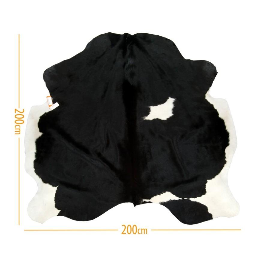 χαλι δερμα d-14 black white 4,30 m2