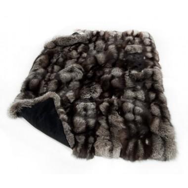 Γούνινη Κουβέρτα - Ριχτάρι  silver fox