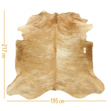 cowhide d-26 exotic light beige