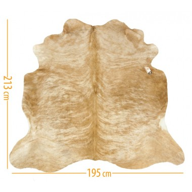 cowhide d-25 light beige