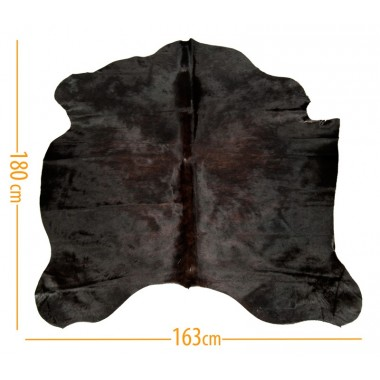 cowhide d-39 exotic dark brown