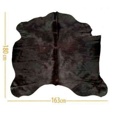 χαλι δερμα d-39 dark brown