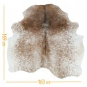 cowhide d-41 salt & pepper brown white