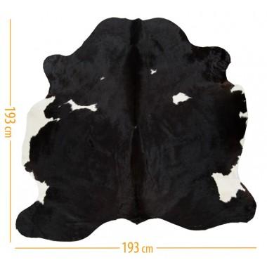 χαλι δερμα d-42 black brown white