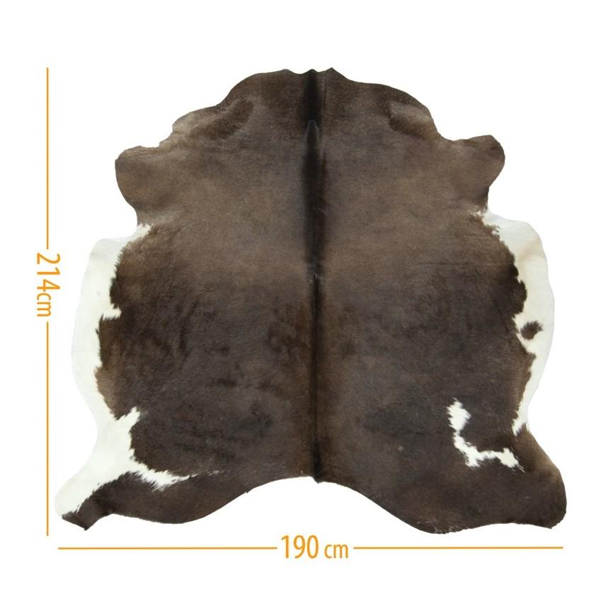 Cowhide pelt rug D-45 reddish sk