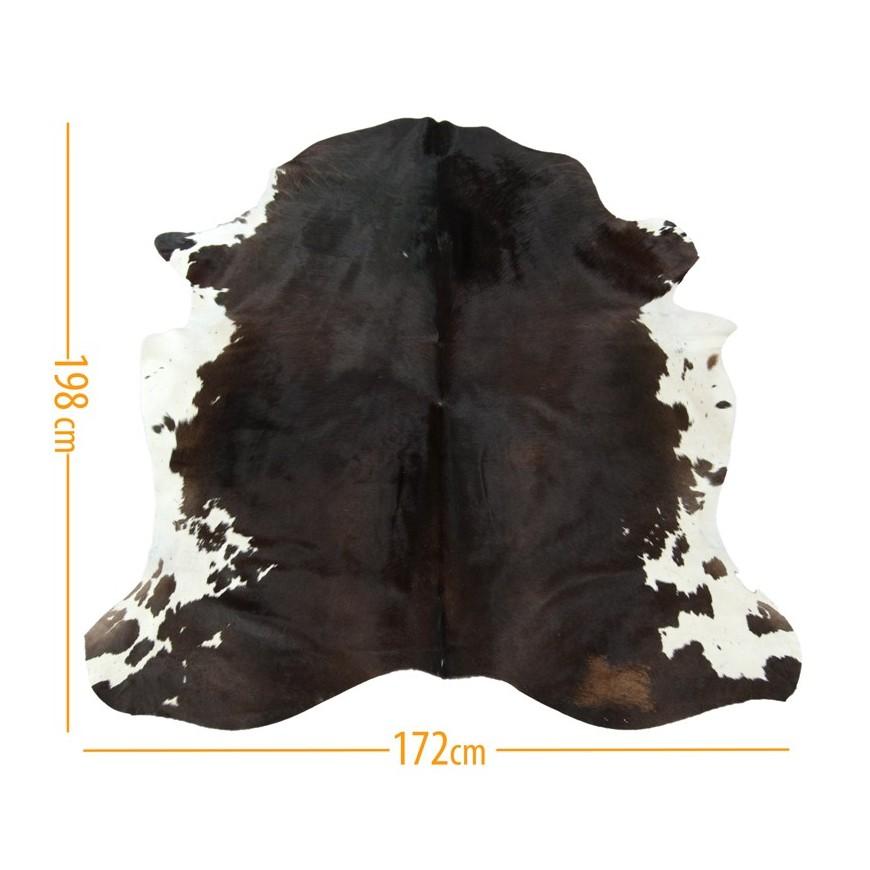 Κοκκινοπό καφέ δέρμα αγελάδας με άσπρη κοιλιά D-49