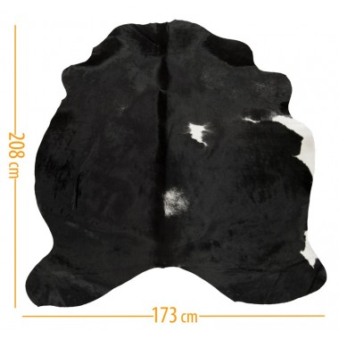 cowhide d-50 black white