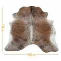 cowhide d-54 salt & pepper brown white
