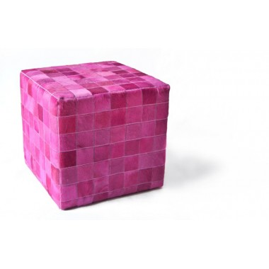 cowhide cube cover* fuxia pony skin
