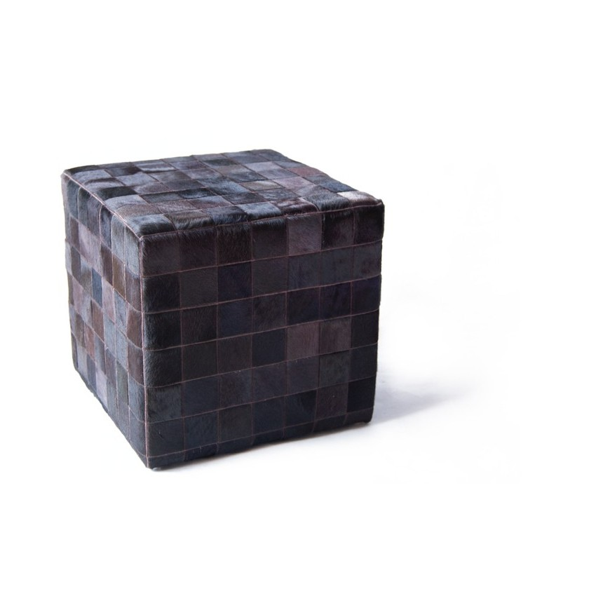 cowhide cube cover* mocca