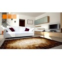 Δερματινο χαλι k-1687 mosaik beige-brown