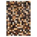 δερματινο χαλι k-1857 mosaik multicolour brown