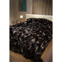 Silver Fox pcs Fur Blanket 140 x 200 cm