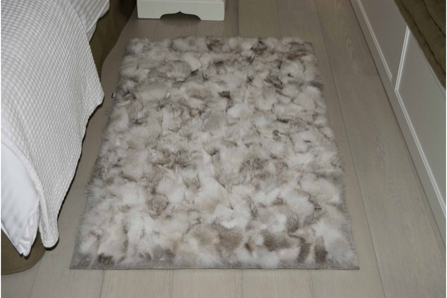 Wolf Natural Fur Rugs Bedroom Mats Fur Home