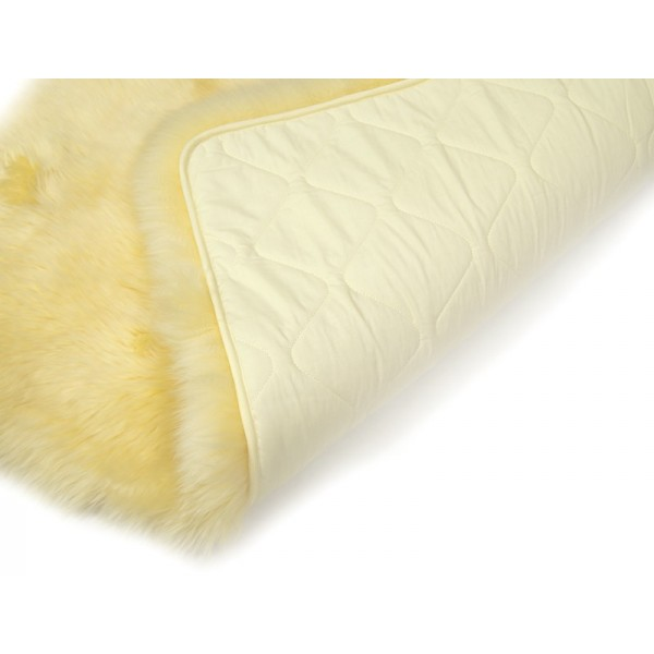 Yellow Sheepskin Rug